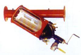 Y-type manual brush pipe filter