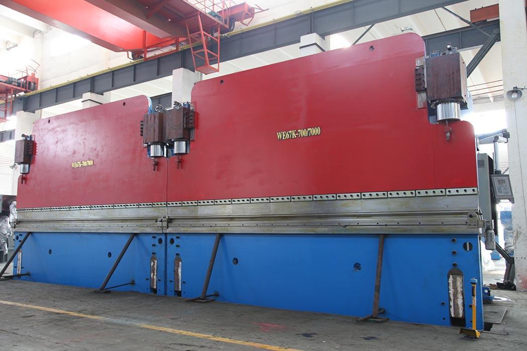 WE67K-700-7000(DA52)双联动板材折弯机