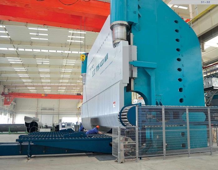 WE67K-3000~12000大型电液伺服数控折弯机