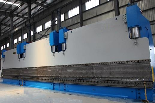 WE67K-500-6000DA56三联动板材折弯机