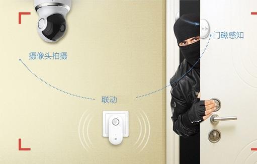 智能家庭监控套装
