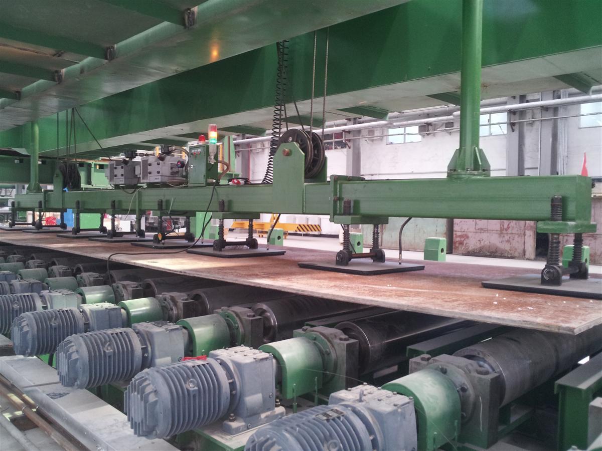 板材自动上下料系统生产线